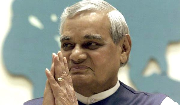 atal bihari vajpayee passed away