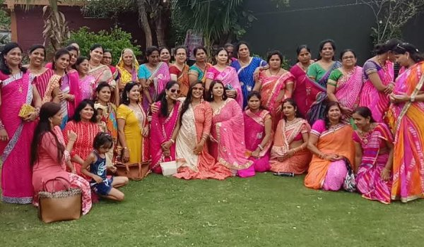 lahariya and Sawan utsav celebration by Vijayvargiya Mahila Mandal in ajmer