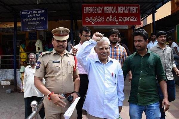 Raids Revolutionary Writer house in conspiracy to kill Prime Minister Modi