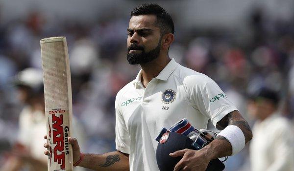 ICC test ranking : Virat Kohli loses top spot after lord's debacle