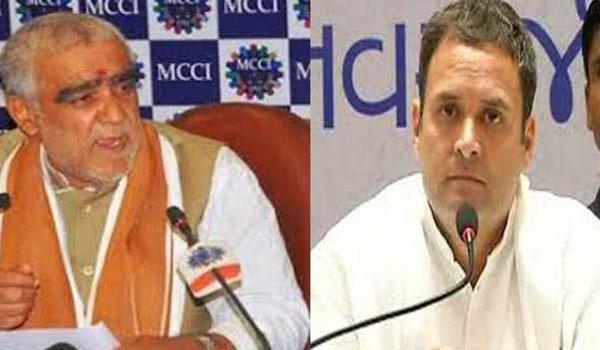 Rahul Gandhi schizophrenic, sewer worm : minister Ashwini Choubey