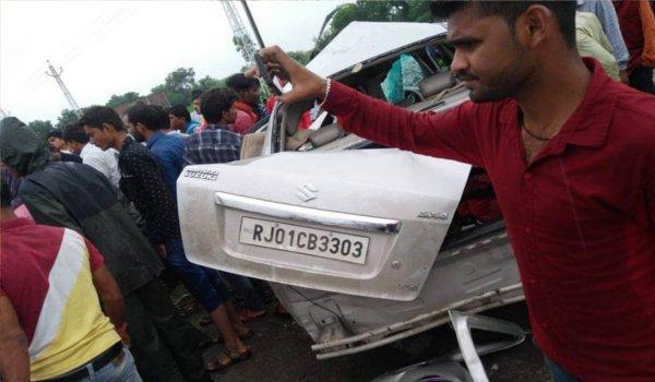 journalist Arvind Jain dies in road accident in bhilwara