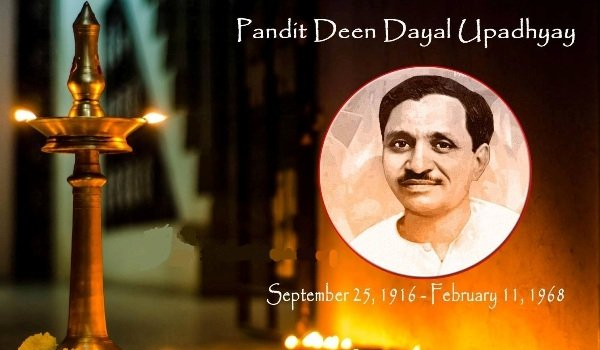 pandit deen dayal upadhyay was born on 25th September 1916