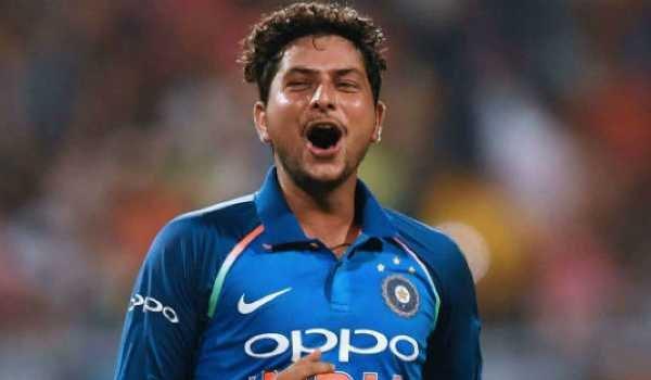 Kuldeep Yadav becomes second fastest Indian to take 50 ODI wickets