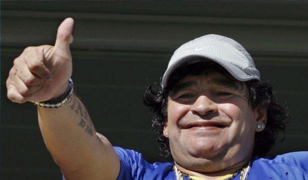 Diego Maradona named coach of Mexican club dorados