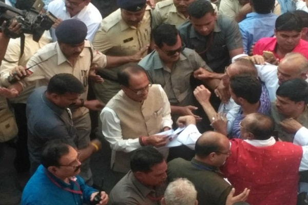Ticketing claimants to Chief Minister Shivraj