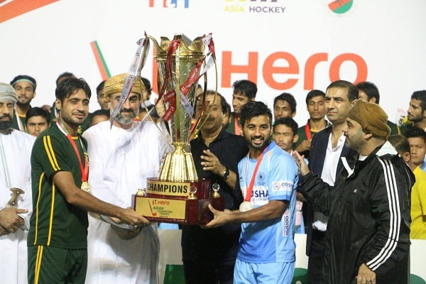Asian Champions Trophy ind and Pak joint winner