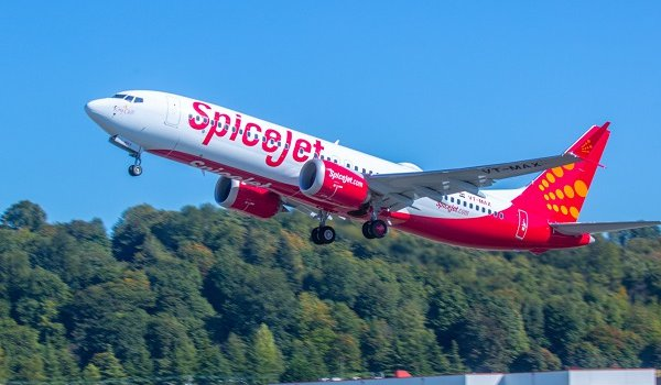 SpiceJet gets its first Boeing 737 Max 8