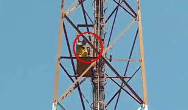 Satyagraha of MLA Dhiraj Gurjar, 14 students on the tower in bhilwara