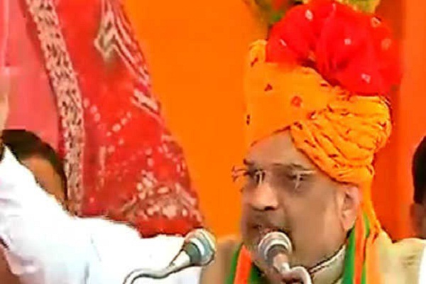 BJP can take advantage of Angad's feet, uproot Congress, then show off- Shah