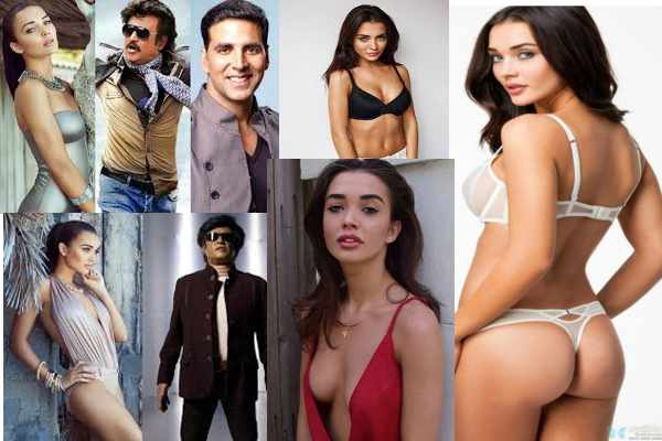 amy jackson in robot 2.0