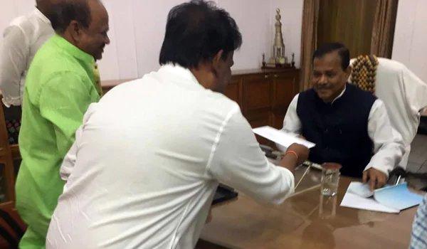 BJP leaders Dilip Ray, Bijoy Mahapatra resign from party in Odisha