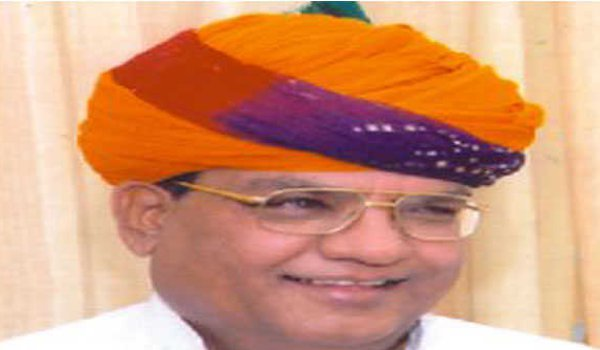 Kalulal Gurjar filed nomination from Mandal constituency in Bhilwara