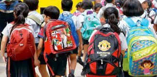 HRD ministry orders No homework for Class 1 and 2 students