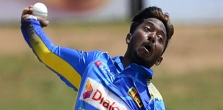 Akila Dhananjay suspended for bowling action
