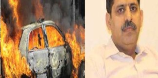 Greater Noida : Techie, 45, Dies After Moving Car Catches Fire In Noida