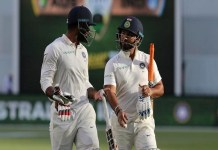 ind v aus 2nd test score 4th day stump