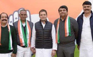 Jharkhand JDU chief Jaleshwar Mahto joins Congress
