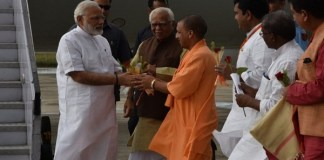 Modi arrives in Varanasi, Varanasi-Ghazipur give 499 crores development projects Evolution