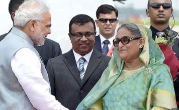 pm Modi congratulated Bangladesh's pm Sheikh Hasina