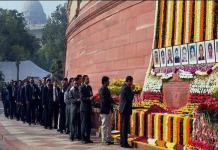 Tribute to martyrs in Rajya Sabha in Parliament building attack