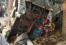 Six killed, five injured in truck-tempo collision in Jaunpur