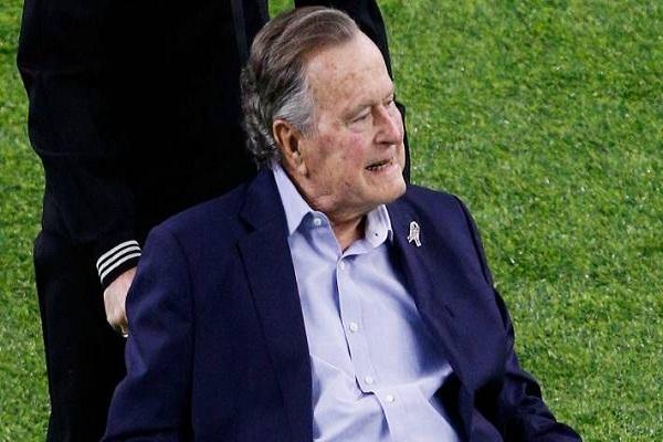 Former US President George HW Bush dies