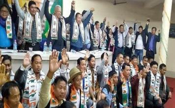 Two NPP legislators and ex-ministers will be join in Congress in Arunachal Pradesh
