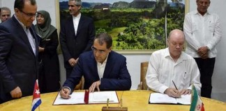 Agricultural and Medical Agreement between Cuba and Iran