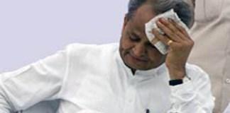 Rajasthan Cm ashok geholt
