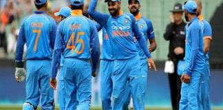 Indian team to play 1600th match agenst nz