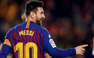 Lionel Messi scores 400th Barcelona goal in 3-0 win over eibar