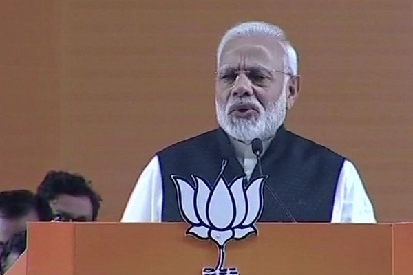PM Modi attack congress on Congress obstructing Ayodhya case