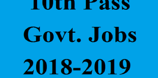 10th-12th pass railway govt jobs 2019