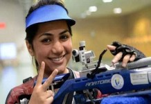 Apurvi Chandela won gold medal by breaking world record in ISSF World Cup