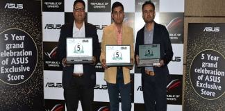 Asus celebrates 5 successful Years of Exclusive Store in Bhopal