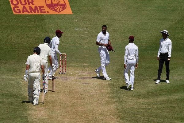 Shannon Gabriel and Joe Root were seen in a verbal spat in the 3rd Test