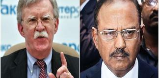 John Bolton talked of Ajit Dobhal on Pulwama terrorist attack