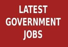 Medical govt jobs 2019
