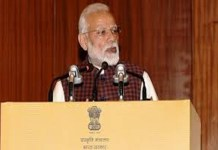 PM Modi says Time for action against terrorism