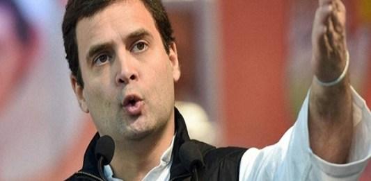 Rahul ghandi blame modi busy shooting after Pulwama attack