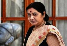 Sushma Swaraj traveled for three countries
