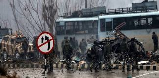 33 soldiers killed, 11 injured in Terrorist attack on CRPF vehicle in Pulwama