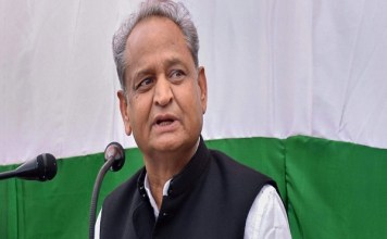 Ashok Gehlot says Prime Minister Modi act as Bollywood in Suratgarh