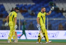 Aaron Finch century, Australia beat Pakistan by eight wickets to take 1-0 lead in series