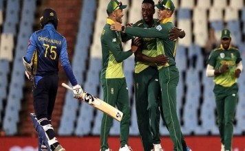 South Africa beat Sri Lanka by 16 runs to lead 2-0 lead in the series