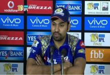 Rohit Sharma Win with better performance of all players