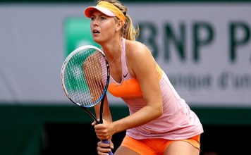 Maria Sharapova out of French Open due to shoulder injury
