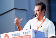 Puducherry Revenue Minister MOHF Shajaha referred to Chennai Hospital