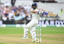 Ajinkya Rahane third Indian to century on county Debut